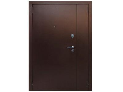 металлическая однолистовая дверь для лестничных площадок